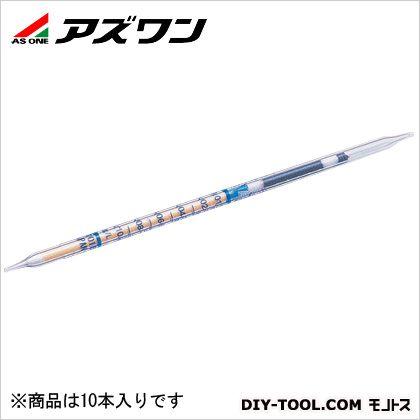 ガス検知管 鑑識用石油   2-8165-11 10 本