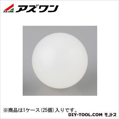 アズワン PP球 1/2インチ  12.7mm 1-6602-06 1ケース(25個入)