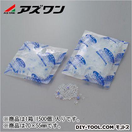 アズワン ポリフィルムシリカゲル乾燥剤  70×55mm 1-6658-01 1箱(1500個入)