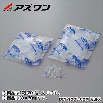 アズワン ポリフィルムシリカゲル乾燥剤  80×70mm 1-6658-02 1箱(800個入)