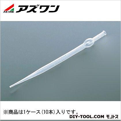 駒込ピペット(PE) 10ml (6-290-04) 1ケース(10本入)