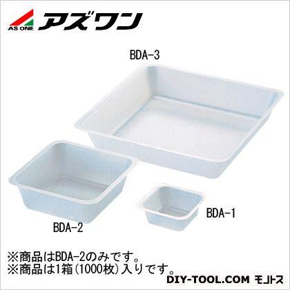 バランスディッシュ非帯電 80×80×25mm (1-4636-12) 1箱(1000枚入)