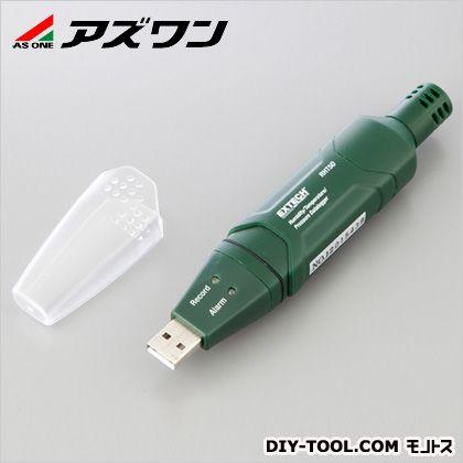 気圧計付き温湿度データーロガー  130×25×30mm 1-3560-01