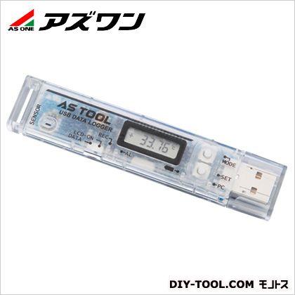 温湿度データロガー  100.7×21.0×10.4mm 2-7963-02