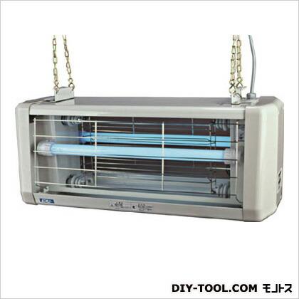 電撃殺虫器 屋外用 20W 2灯式 防水仕様 (×1台)   AS020