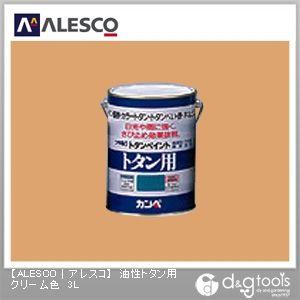 油性トタン用塗料 クリーム色 3L