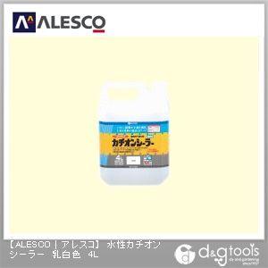 屋内外下塗り剤 水性カチオンシーラー 乳白色 4L