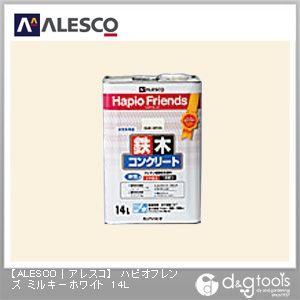 ハピオフレンズ(ウレタン樹脂配合塗料) ミルキーホワイト 14L