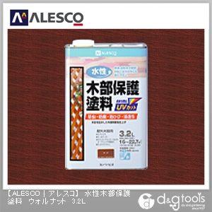 水性木部保護塗料(防虫・防腐・防カビ) ウォルナット 3.2L