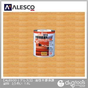 油性木部保護塗料(防虫・防腐・防カビ・防藻) とうめい 1.6L