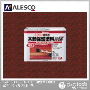 油性木部保護塗料(防虫・防腐・防カビ・防藻) ウォルナット 7L