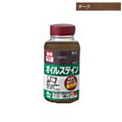 オイルステインA木目を生かした着色剤 チーク 100ML