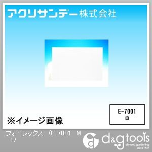 フォーレックス(低発泡塩ビ板) 白 M(450×600) 1ミリ (E-7001 M 1)