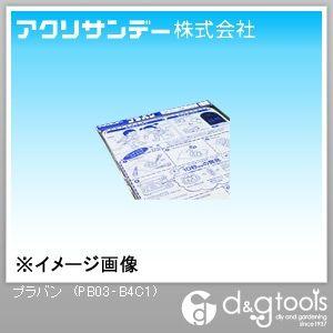 プラバン(ポリスチレン) 透明 257×364(B4) 0.3 PB03‐B4C1