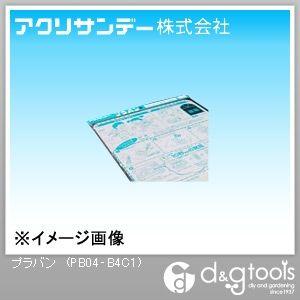 プラバン(ポリスチレン) 透明 257×364×0.4(mm) PB04‐B4C1