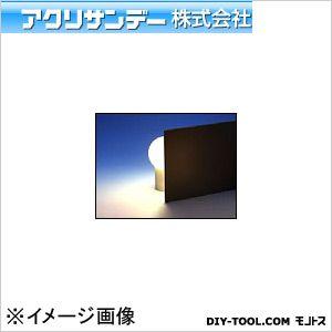 アクリサンデー板(不透明タイプ) (502) 黒 M(550×650)3.0ミリ
