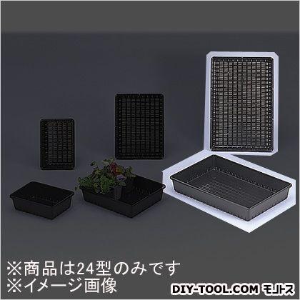 育苗コンテナー 24型 土容量10L ブラック