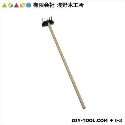 レーキ付立鎌(小)木柄  1050mm 08005