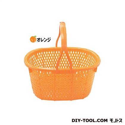 安全興業 収穫かご(15L) オレンジ 約400(横)×約300(縦)×約215mm(高さ) AZ-026 20 個