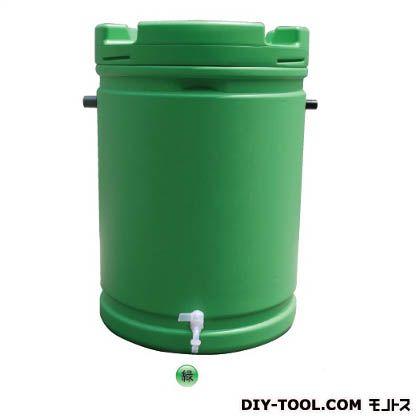 雨水タンク 緑 約580φ(直径)*約835mm(高さ) AZ-061