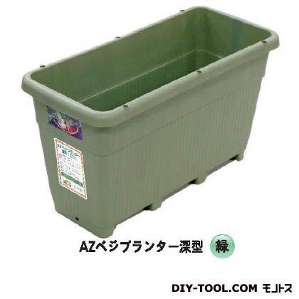 AZベジプランター深型 緑 約690(横)*約309(縦)*約383mm(高さ) AZ-092 10 個