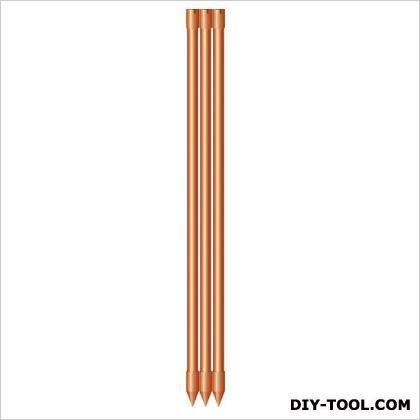 アポロ エリアポール エリアシステム電気柵用品 オレンジ 20φ×900mm AP-PL102A 10 本