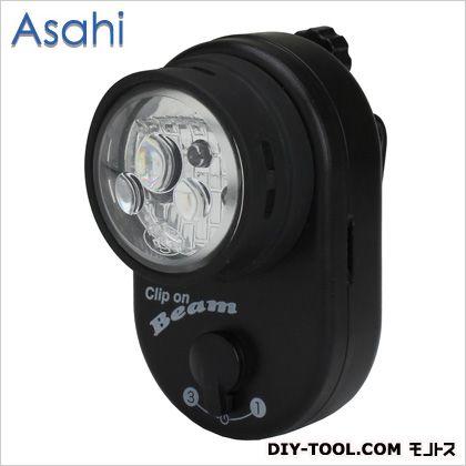 旭電機化成 3LEDサイクルライト前カゴクリップライト   AKU-4304
