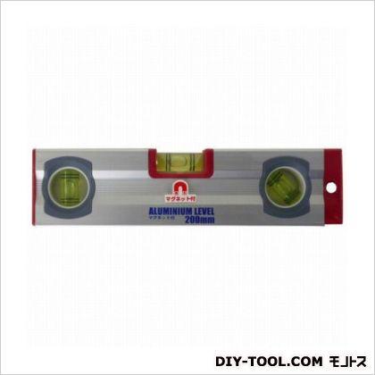 ARC アルミ水平器 マグネット付  200mm