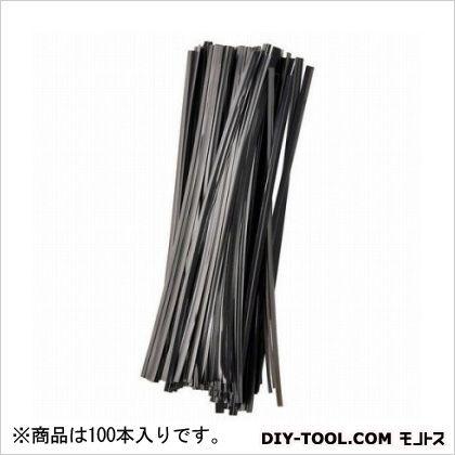 G ビニタイ キク用 黒 15cm  100 本