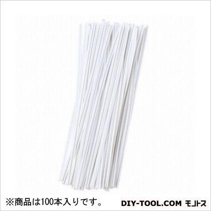 G ビニタイ 白 15cm  100 本