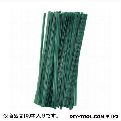 G ビニタイ 緑 15cm  100 本