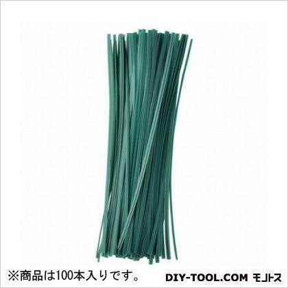 G ビニタイ 緑 20cm  100 本