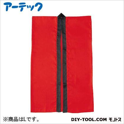 アーテック サテンロングハッピ 赤 L(ハチマキ付)  660×1.1m、ハチマキ:1700×45mm 1147