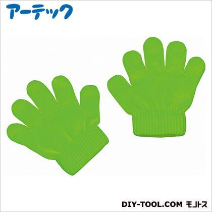 アーテック ミニのびのび手袋 蛍光グリーン   2118