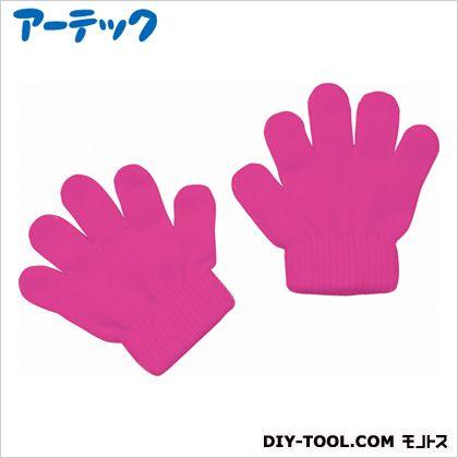 アーテック ミニのびのび手袋 蛍光ピンク   2119