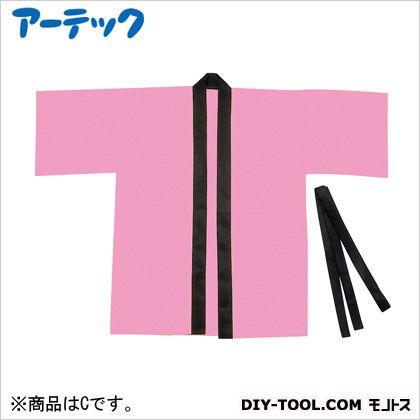 アーテック カラー不織布ハッピ 園児用 C 桃   4054