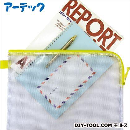 DX連絡袋 A4(ファスナー付メッシュソフトケース) (3992)