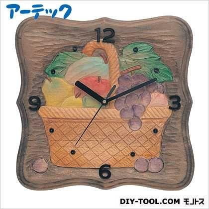 木彫かざり時計 DX型 しな材   5031