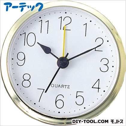 丸型時計 ゴールド アラーム付   5153