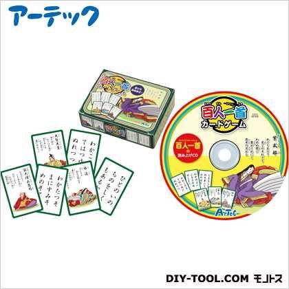 百人一首カードゲーム(ナレーションCD付)   7504