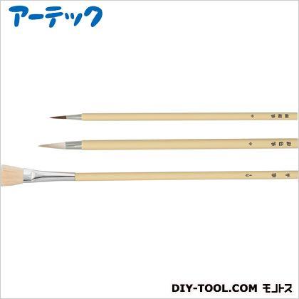 プラ軸 デザイン筆 3本組 (10801)