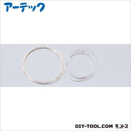 七宝用具 銀リボン線 (1m) GT-7★   37893