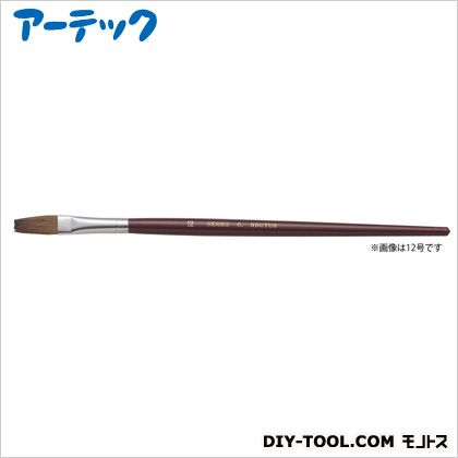 アーテック A&B 水彩画筆 C-2(フラット)馬毛軟毛   147021