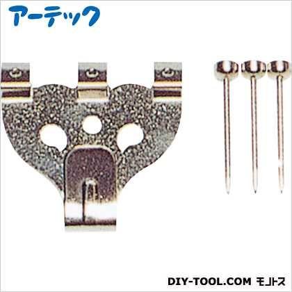 ステンレスXフック 大 3本針 4001 単品   196154