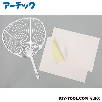 うちわ作り(タック付) (38099)