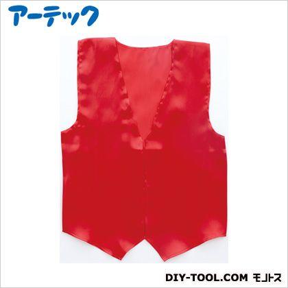 アーテック 衣装ベース サテンベスト 大 赤   2083