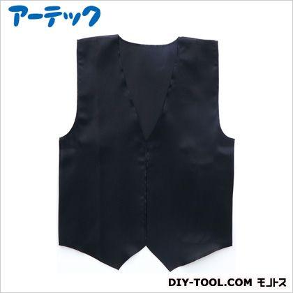 衣装ベース サテンベスト小 黒   2139