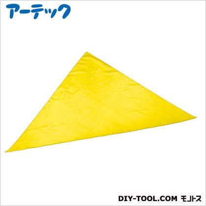 カラースカーフ三角型 黄 (2288)