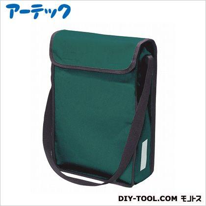 A4ショルダースケッチバッグ 緑 370×260×80mm