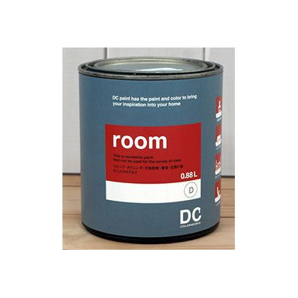DCペイント かべ紙に塗るペンキ Room 【1265】White Shoulders 0.9L DC-RQ-1265